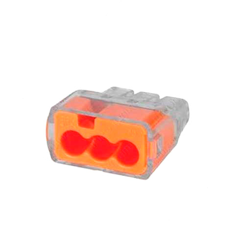 Ideal In-Sure Push-In Wire Connectors 3 Ports Orange - icon