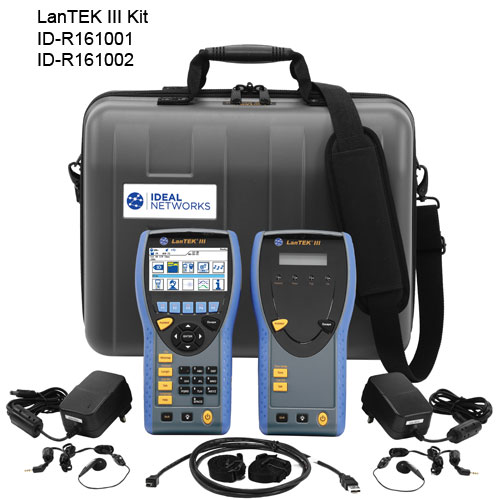 LanTEK III Cable Certifier Kit Without Adapters