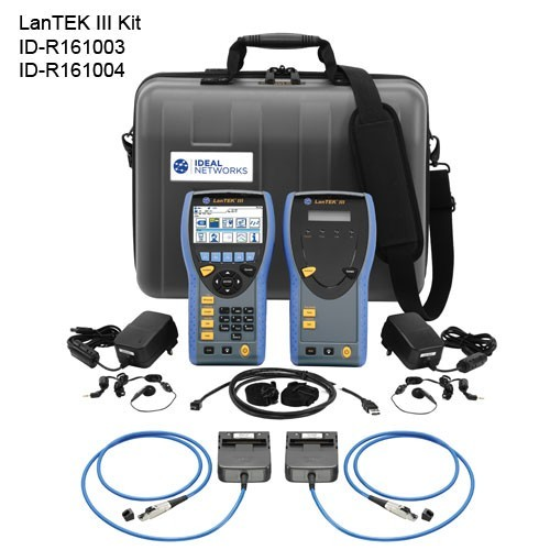 LanTEK III Cable Certifier Kit With Adapters