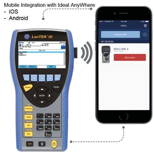 LanTEK III Mobile App Integration