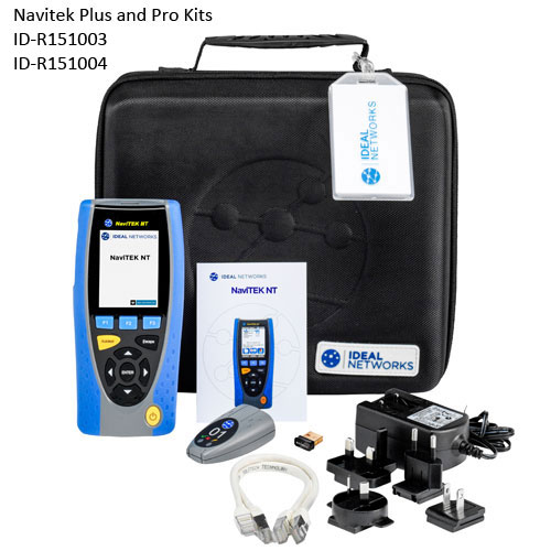 ID-R151003 and ID-R151004 Navitek NT cable and network test kits