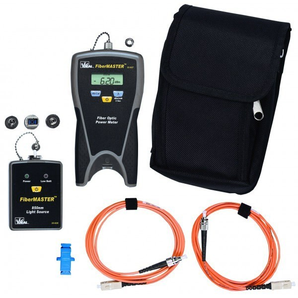 Ideal FiberMaster Optic Tester Kit