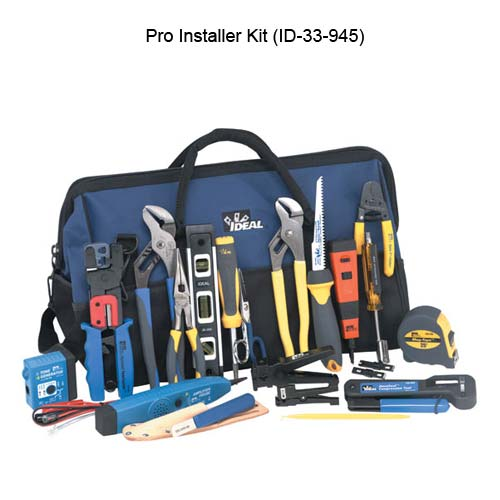 ideal industries 33-945 pro installer kit components - icon
