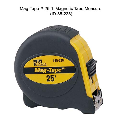 ideal industries 35-238 mag-tape 25 foot magnetic tape measure - icon
