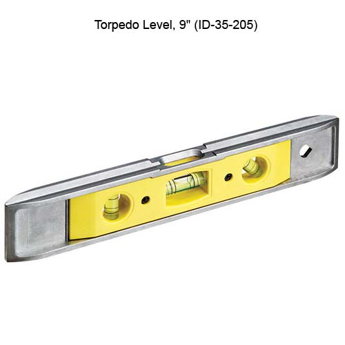 ideal industries 35-205 9 inch torpedo level - icon