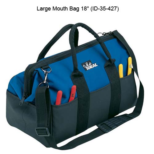 ideal industries 35-427 18 inch large mouth bag - icon