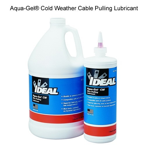 IDEAL Aqua-Gel® Cold Weather Cable Pulling Lubricant