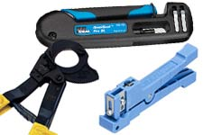 Ideal cable cutters, wire strippers, compression tools