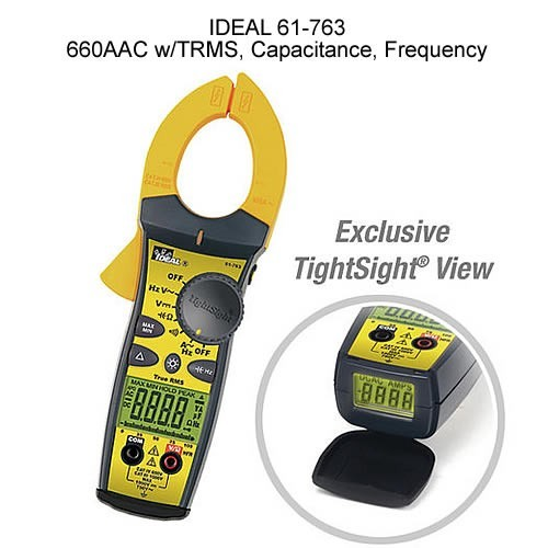 IDEAL Clamp Meters with TightSight®