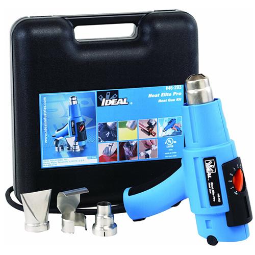 ideal 46-203 heat elite pro heat gun kit components - icon