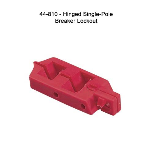 ideal industries 44-810 hinged single-pole breaker lockout - icon