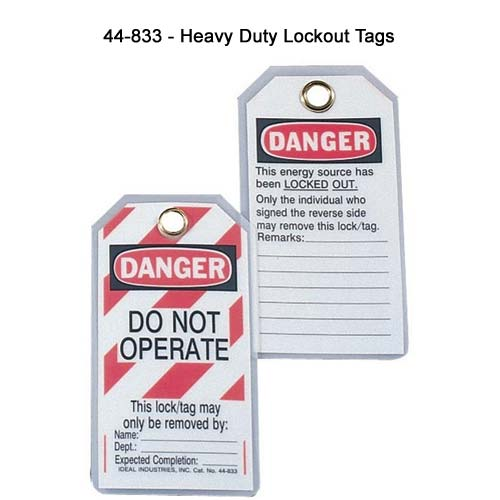ideal industries 44-833 heavy duty lockout tags - icon