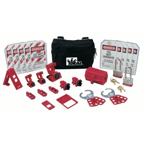 IDEAL 44-971 Standard Lockout / Tagout Kit