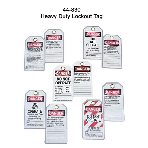 ideal industries 44-830 heavy duty lockout tags - icon