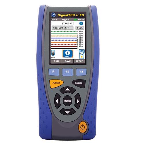 SignalTEK® II & II-FO Fiber Optic Qualification Testers