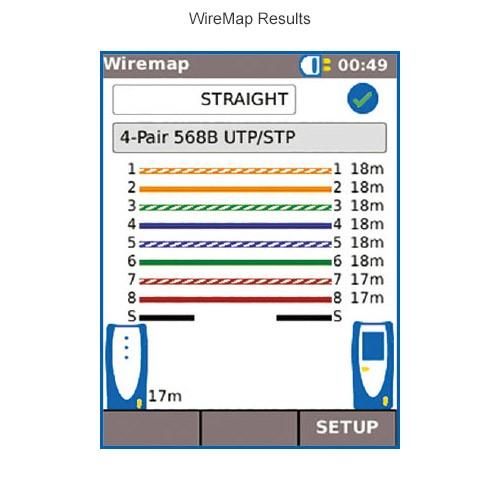 SignalTEK CT Wiremap Results