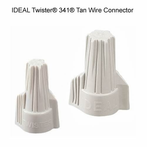IDEAL Twister® 341® Tan Wire Connector