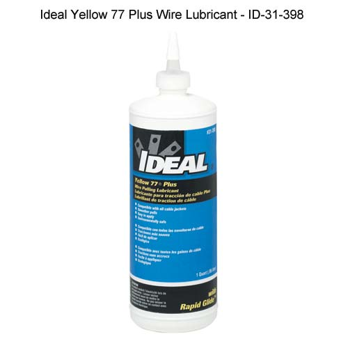 Ideal Industries Yellow 77 Plus Wire Lubricant one quart - icon
