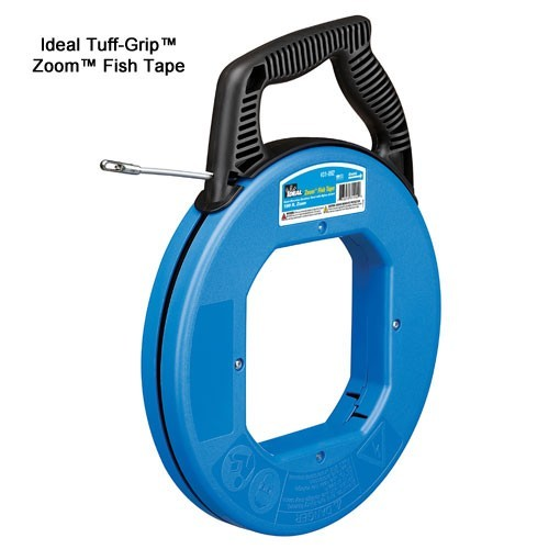 ideal industries tuff-grip zoom fish tape - icon