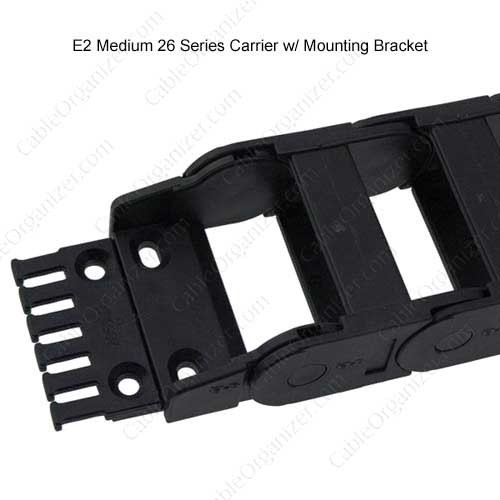 igus e2 medium series 26 carrier with mounting bracket - icon