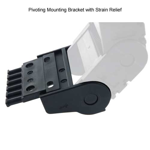 igus e2 pivoting mounting bracket with strain relief - icon