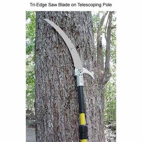 jameson tri edge saw blade on a telescoping pole - icon