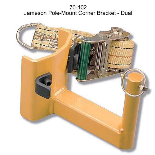 Jameson Pole-Mount Corner Bracket - Dual - icon