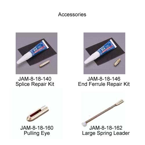 jameson splice repair kit end ferrule repair kit pulling eye and large spring leader - icon