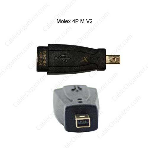 GoldX USB QuickConnect Connector Tip USB Mini Molex 4P M V2 - icon