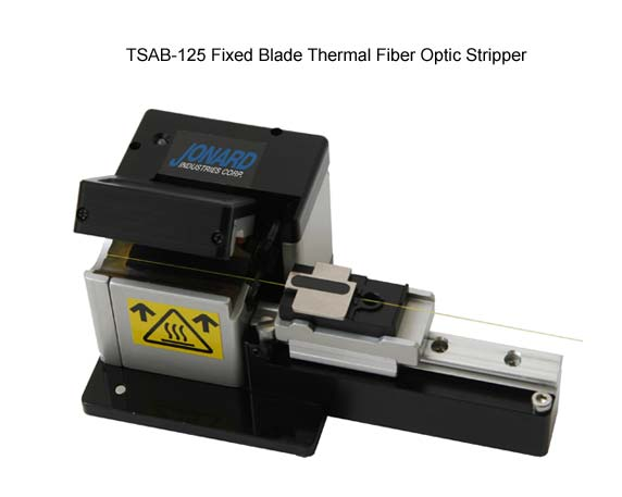 Full image of Jonard thermal fiber optic stripper - icon