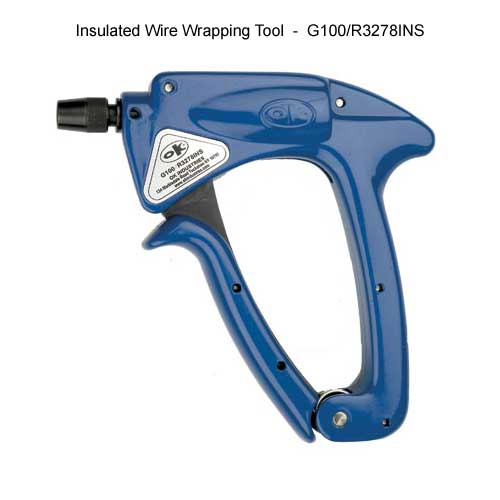OK Industries insulated wire wrapping gun - icon