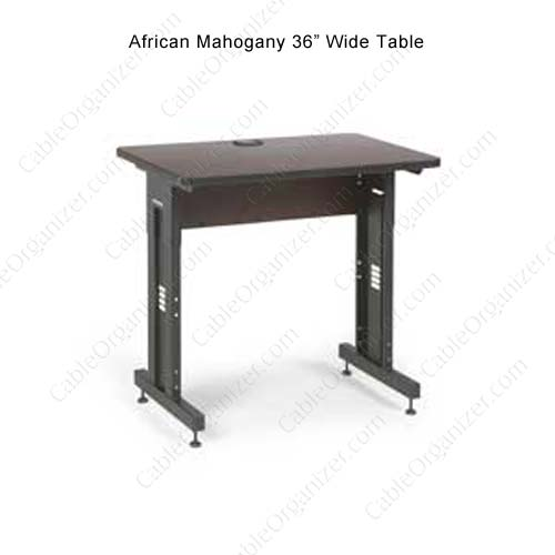 african mahogany table, 36 inch wide - icon