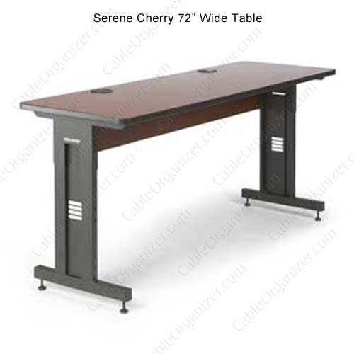 serene cherry table, 72 inch wide - icon