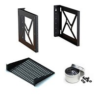 Kendall Howard Open Wallmount Rack Bundles