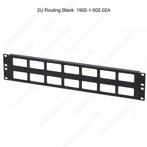2U cable routing blank, 1902-1-002-02A - icon