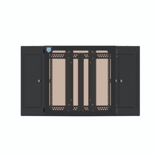 12U Corner Wallmount Cabinet - icon