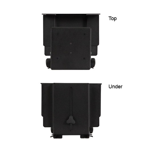Kendall Howard Adjustable CPU Holder Top and Under Views - icon