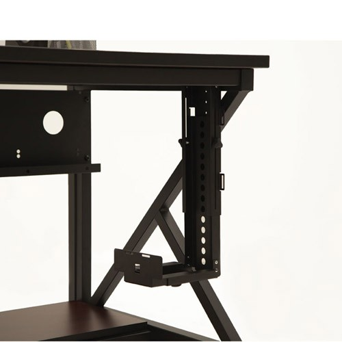 Kendall Howard Adjustable CPU Holder mounted on desk - icon