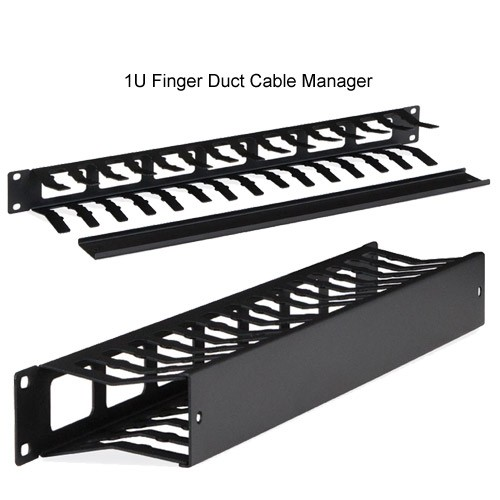Kendall Howard 1U Finger Duct Cable Manager - icon