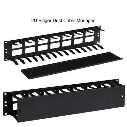 Kendall Howard 2U Finger Duct Cable Manager - icon