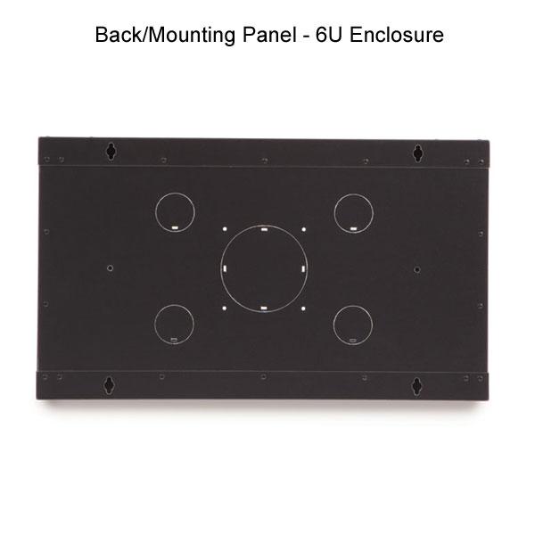 back panel for 6U enclosure
