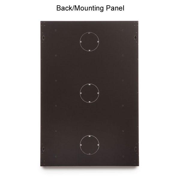 back/mounting panel