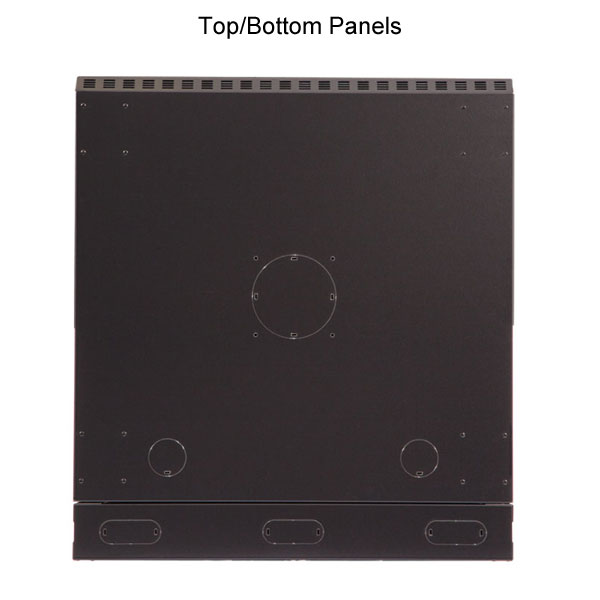 bottom and top panels