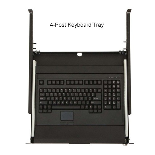 Kendall Howard 4-Post Rackmount Keyboard Tray Extended - icon