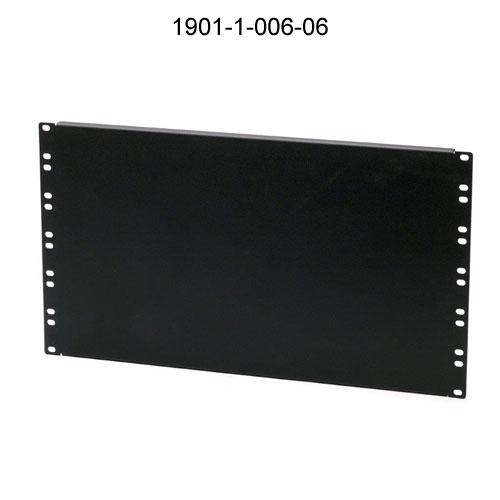 6U flanged panel