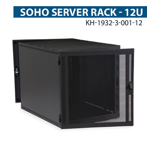 kendall howard compact series 12u soho server rack icon