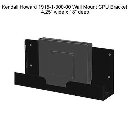 Kendall Howard Wall Mount CPU Bracket