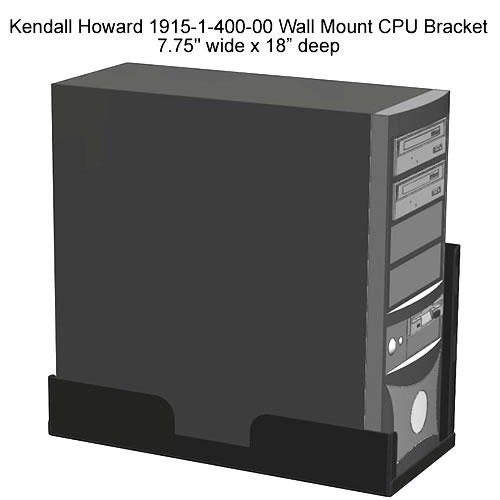 Kendall Howard Wall Mount CPU bracket - icon