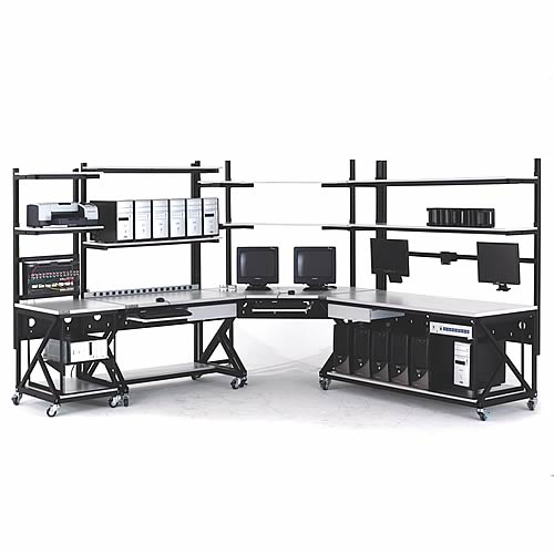 kendall howard performance series computer workbench configuration L-shape - icon