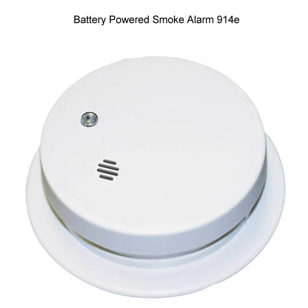 Rear image of Kidde ionization photoelectric smoke alarm - icon